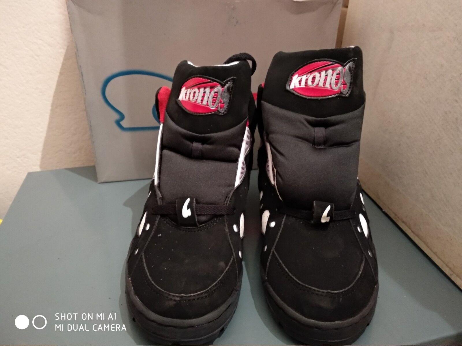 Vintage Kronos Basketball Chaussures bon état taille 9 US ultra rare