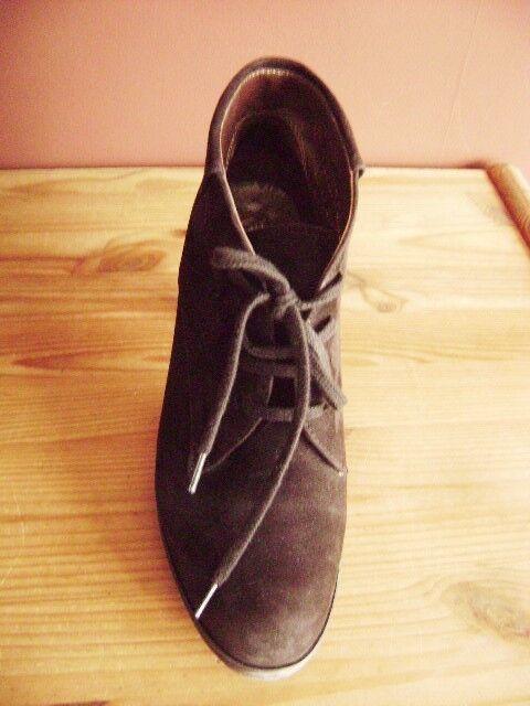 @ Peter Kaiser @ Ankle stivali stivali stivali Pumps Camoscio Marroneee Scuro Tg. 37,5  2 ea9000