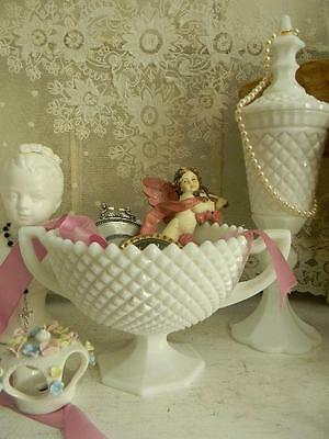 OMG!~Gorgeous Vintage Westmoreland English Hobnail Trophy Bowl~Loving Cup