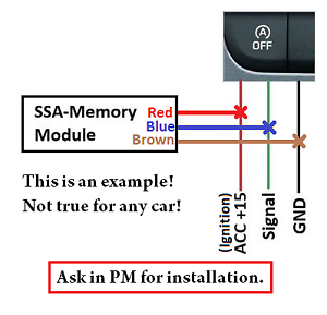 Details about NEW! Start Stop Memory module with SERVICE MODE! / Start-Stop  SSA memory