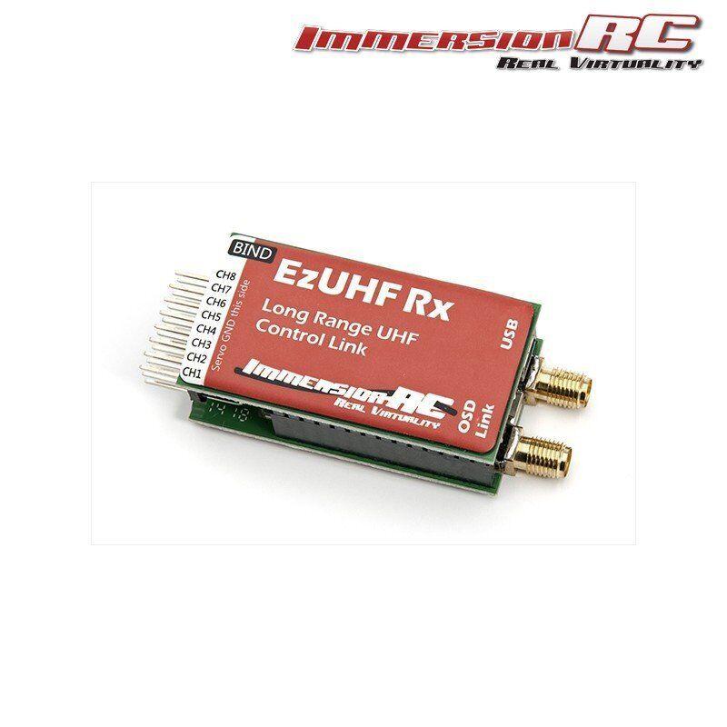 ImmersionRC EzUHF 8 Channel Diversity Receiver 433MHZ lungo  Range UHF  ordina ora con grande sconto e consegna gratuita