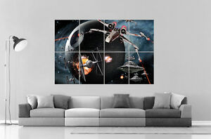 Details About Star Wars X Wing Art Poster Grand Format A0 Large Print