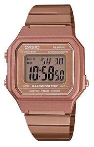 Casio Vintage Watch * B650WC-5A Digital Rose Gold Steel Ivanandsophia COD PayPal