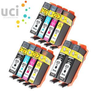 10-Ink-CartridgeFor-HP-Deskjet-Ink-Advantage-3525-4615-4625-5525-6520-6525-655BK