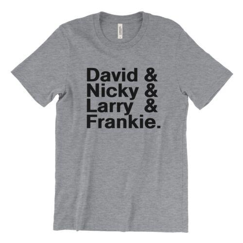 David Mancuso Nicky Siano Larry Levan /& Frankie Knuckles T Shirt DJ legends