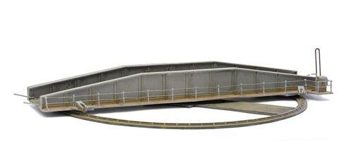 Oo Gebäude Kunststoff Kit Manuelle Eisenbahn Drehscheibe Dapol Kitmaster C001