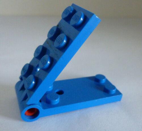 1 x LEGO® 3149 System,Scharnierelement blau 2x4 wie auf dem Foto gebraucht.