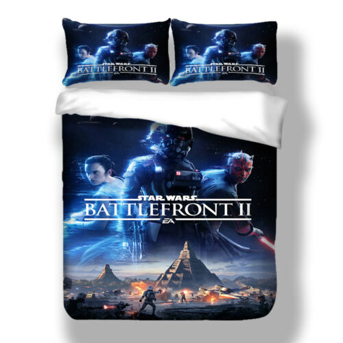 Star Wars Bettbezug 3D Galaxie Bettwäsche 48×74 Kissenbezüge 135×200-220×240 HD