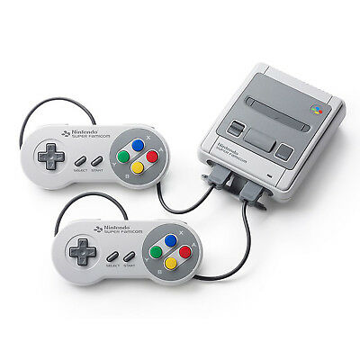 Nintendo Classic Mini Super NES Console With 21 Pre-Installed Games