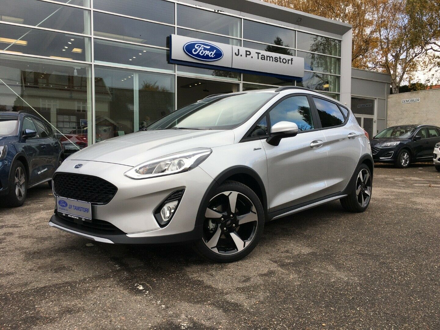 Ford Fiesta 1,0 EcoBoost mHEV Active X 5d - 189.900 kr.