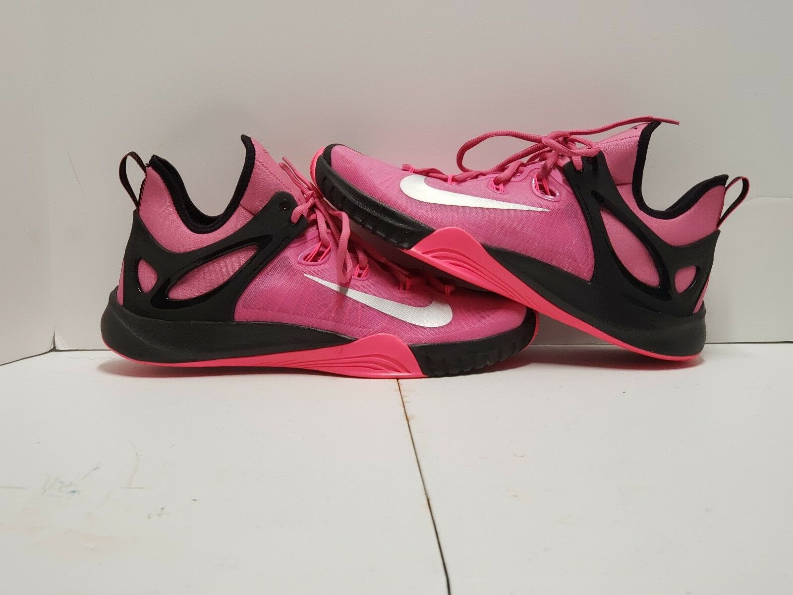 Nike Zoom Hyperrev 2015 Kay Yow  Think Pink  Sz. 12  Preowned