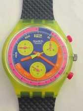 Vintage 1991 Swatch C-H-R-O-N-O - chronograph Grand Prix SCJ101 New In Box