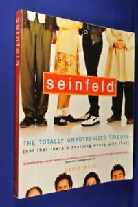 SEINFELD-David-Wild-THE-TOTALLY-UNAUTHORIZED-TRIBUTE-Book