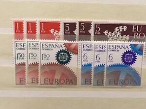 CEPT-Gemeinschaft-Ausgaben-SPANIEN-aus-1961-1967-ansehen-Y240-1
