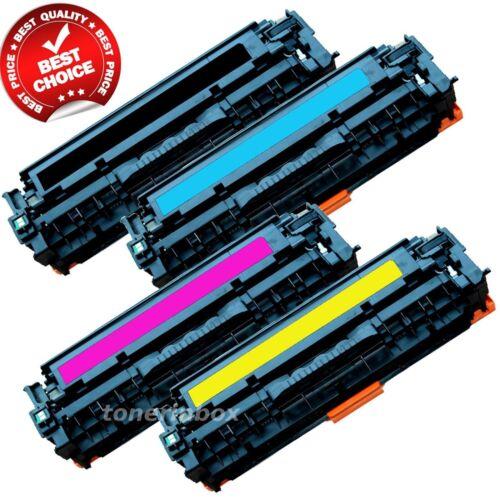 4 pack 131 Toner Cartridge SET BCYM for Canon ImageClass LBP-7110CW MF8280CW