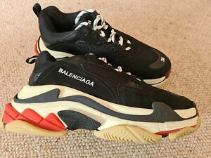 Buy New Balenciaga Triple S Trainers Blue Red 2 0 shoes