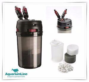 Hydor prime 30 filtro esterno acquario filtraggio compresi for Filtro acqua tartarughe