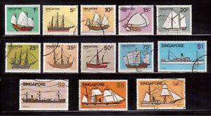 SINGAPORE-1980-USED-SET-336-48-H55