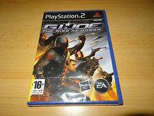 G.I. JOE THE RISE OF COBRA SONY PLAYSTATION 2 PS2 BRAND NEW  FACTORY SEALED