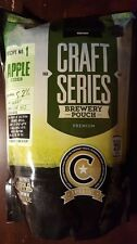 Mangrove Jack's Craft 6 Gallon Apple Cider Recipe kit ~ Home Wine Making + Yeast