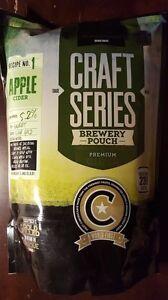 Mangrove-Jack-039-s-Craft-6-Gallon-Apple-Cider-Recipe-kit-Home-Wine-Making-Yeast