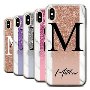 Personalised-Gel-TPU-Case-for-Apple-iPhone-XS-Max-Custom-Handwritten-Glitter
