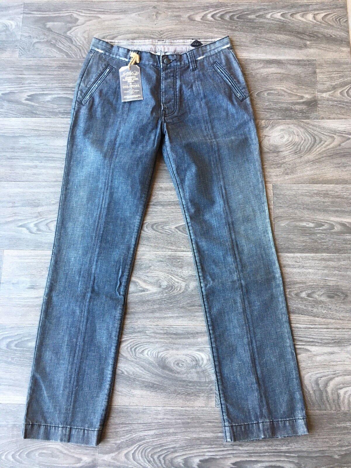 NWT Stitch's Men's The Delaware Boot Cut Leg Jeans Phoenix Wash Size 32