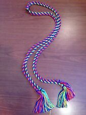 RAINBOW COLOR GRADUATION HONOR CORDS  - BRAND NEW