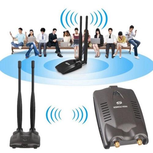 Password Crack Internet Long Range Dual Wifi Antenna USB Wifi Adapter Decoder HF
