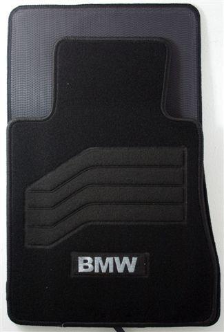 TAPPETINI TAPPETI MOQUETTE UNIVERSALI ANT POST CON SCRITTA BMW S1 S3 S5