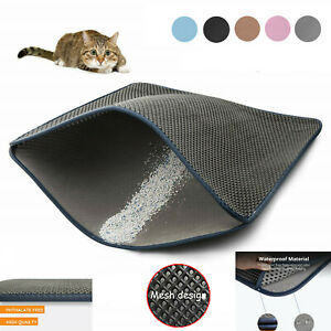 Cat-Litter-Box-Blackhole-Mat-Trapper-Foldable-Pad-Pet-Rug-EVA-Foam-Rubber-S-XL