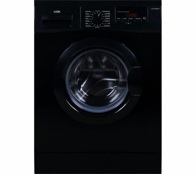 LOGIK L814WMB17 8 kg 1400 Spin Washing Machine - Black - Currys