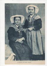 Costumes de Savoie Arves France Vintage Postcard 273a