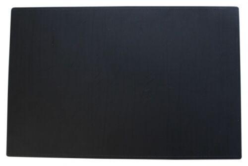 Schreibtischunterlage Schreibunterlage 38 x 58 cm Lederfaserstoff schwarz