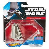 2 Star Wars Hot Wheels Tantive Iv Imperial Shuttle Starships & Flight Stand