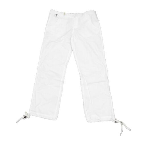 White 574B Womens Roxy Summer Linen Pants