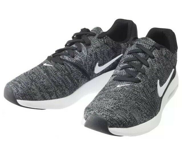 Nike Air Max Modern Flyknit 876066 003 Black Grey White Mens Running Shoes Sneakers 876066 003
