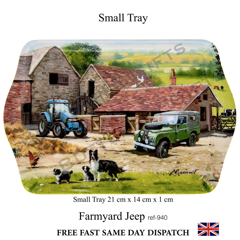 SMALL TRAY Farmyard Jeep 940