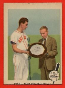 1959 Fleer #32 Ted Williams VG-VGEX+ Boston Red Sox FREE SHIPPING HOF