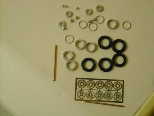 """1//43rd scale photo etched wire wheel kit K/&R Replicas for cars with 16/"""" wheels"""