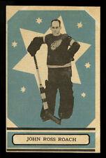 1933-34 V304A O-PEE-CHEE SERIES A~#53~JOHN ROSS ROACH~GOALIE SHARP RED WINGS