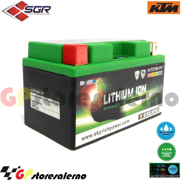 0675010sr Batteria Al Litio Ytz10s Ktm 690 Smc R 4t 2009 Winst Klein