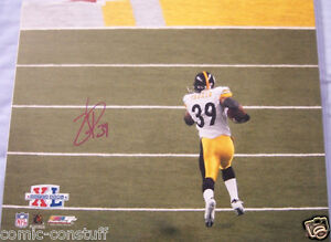 Willie-Parker-signed-auto-Pittsburgh-Steelers-Super-Bowl-40-TD-Run-16x20-photo