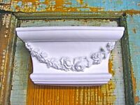 Shabby Chic Rose Floral Corbel / Ebays Largest Furniture Applique Store
