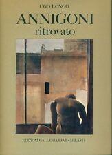Annigoni ritrovato - Edizioni Galleria Levi 1971 - Autografato dall'Artista