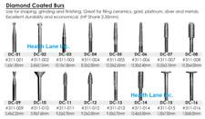 Meta Besqual Dental Lab Diamond Coated Burs Hp Shank For Ceramics And All Metals
