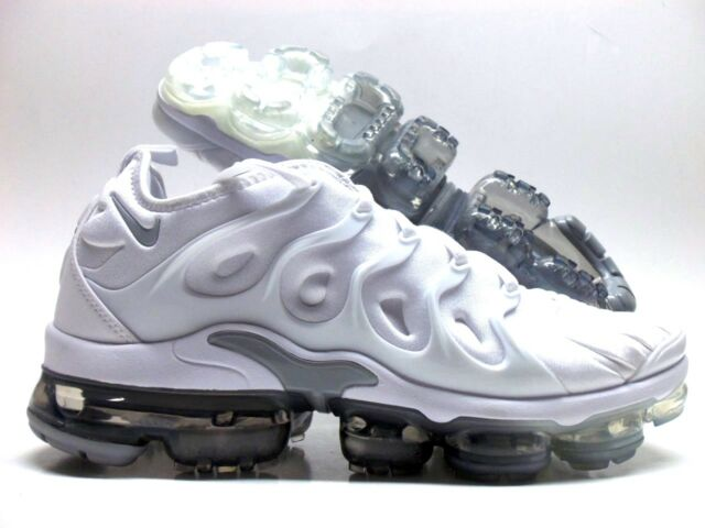 cheap for discount 7473b c9814 Nike Air Vapormax Plus White Pure Platinum Wolf Grey 924453-102 Mens Size 10