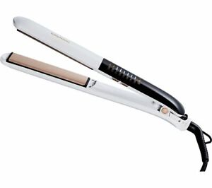 GRUNDIG Touch Control HS7831 Hair Straightener - White & Rose Gold - Currys