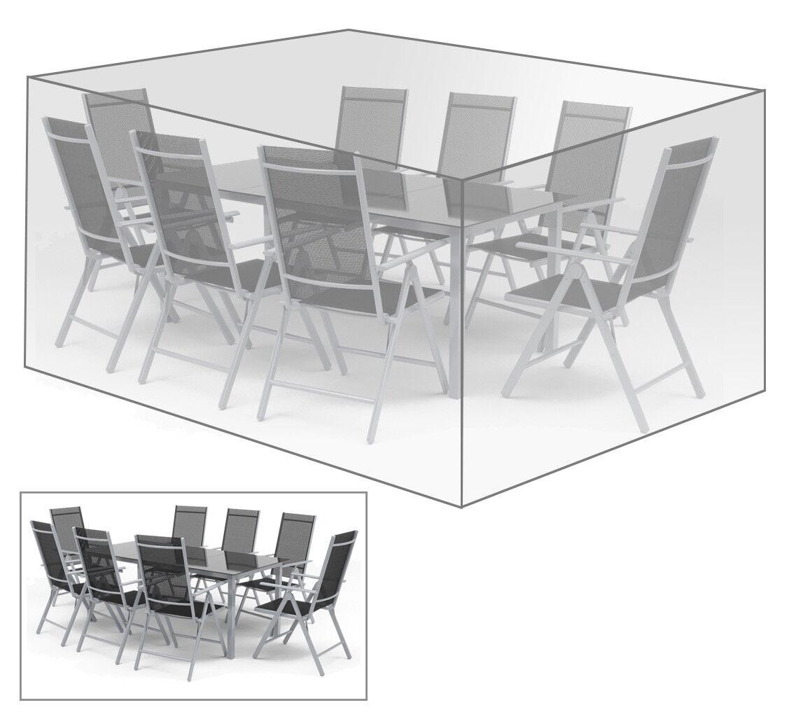 Schutzhülle Plane für Gartenmöbel Sitzgruppe Transparent 250x210x90cm GZ1197tp         Zu einem erschwinglichen Preis  a66c17