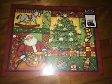2013 LANG PATCHWORK CHRISTMAS SUSAN WINGET 500 PC CHRISTMAS PUZZLE CHINA - NEW